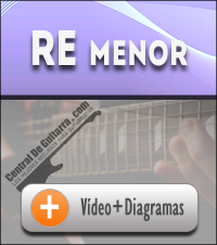 Acorde Re menor guitarra